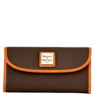 Dooney & Bourke Pebble Grain Continental Clutch (Introduced by Dooney & Bourke at $128 in Jun 2014)|https://ak1.ostkcdn.com/images/products/is/images/direct/dae897705464d83c3370367503cdfd912eb32cb3/Dooney-%26-Bourke-Pebble-Grain-Continental-Clutch-%28Introduced-by-Dooney-%26-Bourke-at-%24128-in-Jun-2014%29.jpg?impolicy=medium