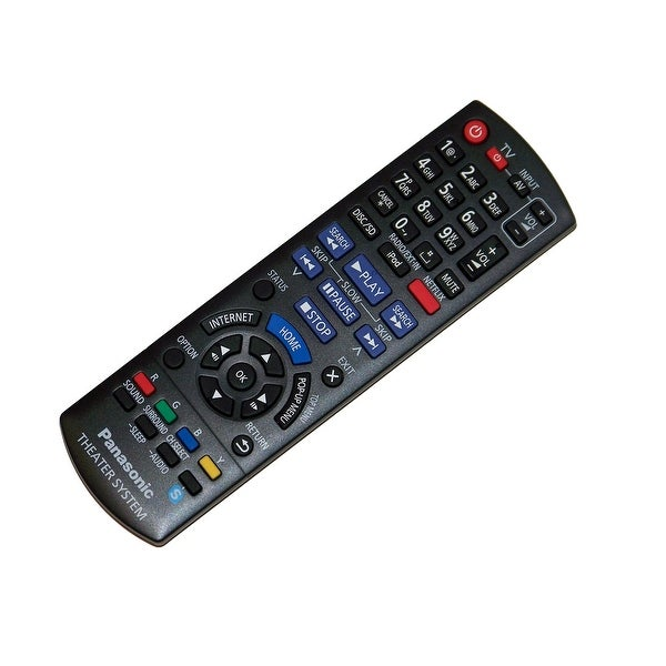 OEM Panasonic Remote Control Originally Shipped With: SABTT190P, SABTT195P, SABTT196P, SABTT490P