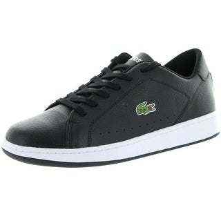 Lacoste Mens Carnaby Lcr Casual Fashion Sneakers - Black/Black - 11.5 d(m) us