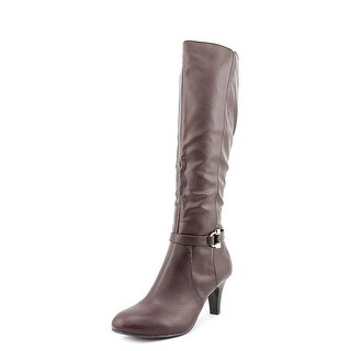 Karen Scott Womens Hadley Almond Toe Knee High Fashion Boots