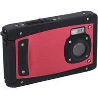 Coleman(R) C40WP-R 20.0-Megapixel VentureHD 1080p Underwater Digital Camera (Red)