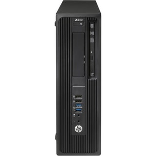 HP Z240 SFF T4N76UT#ABA Small Form Factor Workstation