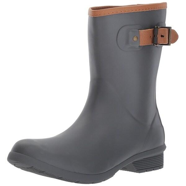 4d4a45aee602 Shop Chooka Women s Mid-Height Memory Foam Rain Boot - Free Shipping ...