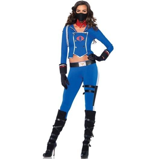 Leg Avenue Cobra Girl Adult Costume - Blue