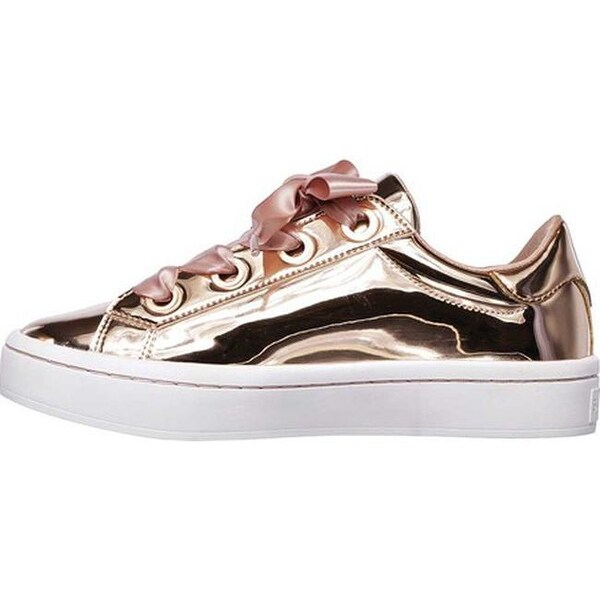 SKECHERS SKECHERS Hi Lites Liquid Bling (Rose Gold) Women's Shoes from Zappos | Shop