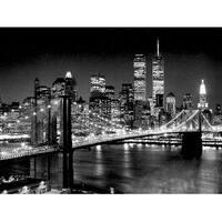 ''Brooklyn Bridge'' by Henri Silberman Photography Art Print (23.5 x 31.5 in.)