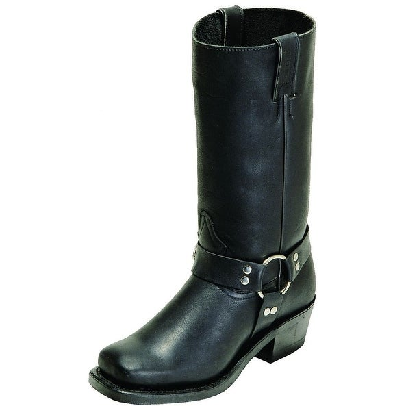 Boulet Motorcycle Boots Women Leather Dogger Everest Black
