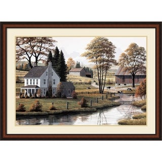 Link to Framed Art Print 'Autumn Grazing' by Bill Saunders 43 x 32-inch Similar Items in Art Prints
