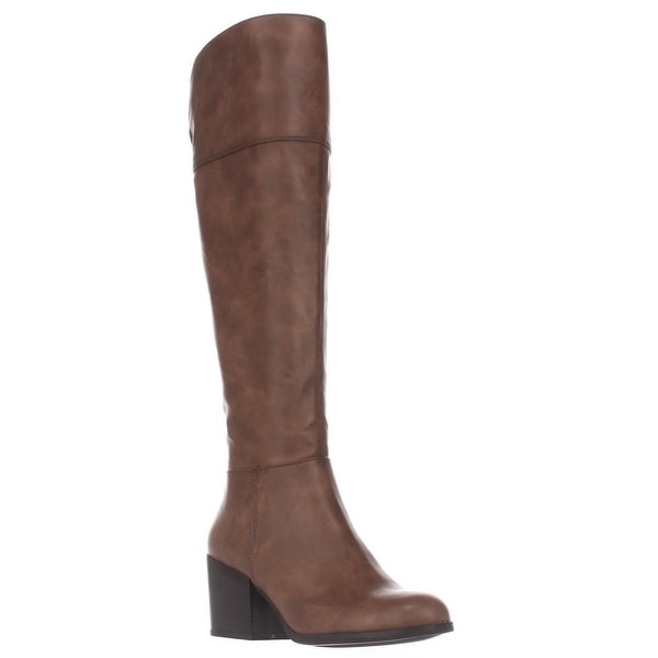 madden girl Wendiee Knee High Boots, Cognac