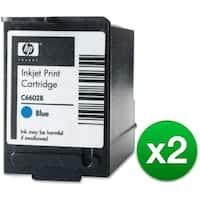 HP Blue POS Ink Cartridge High Yield (C6602B) (2-Pack)