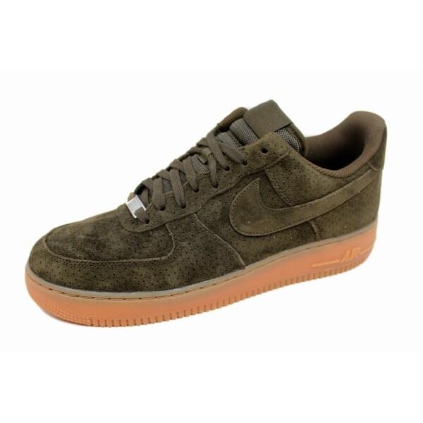 Nike Women's Air Force 1 '07 Suede Dark Loden/Dark Loden 749263-300