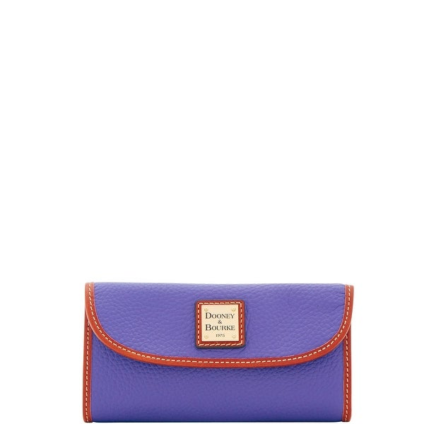 Dooney & Bourke Pebble Grain Continental Clutch (Introduced by Dooney & Bourke at $128 in Feb 2018)