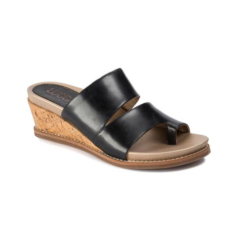 Lucca Lane Whitley Women's Sandals Black