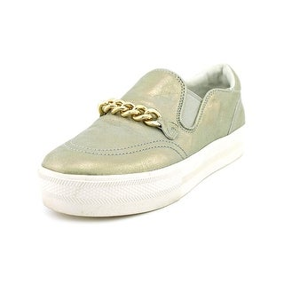 Ash Joe Round Toe Leather Sneakers