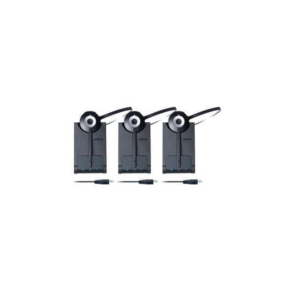 f35e4bcf0d3 Shop Jabra PRO 930 MS Mono Wireless Headset (3-Pack) w/ Noise-Canceling  Microphone - Free Shipping Today - Overstock - 15386177