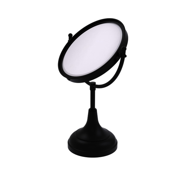 Allied Brass 8-in Vanity Top Make-Up Mirror 2X Magnification