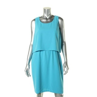 Marc New York Womens Sleevleess Fly-Away Wear to Work Dress - 10