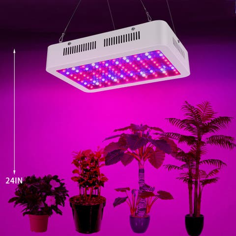 Dual Chips 380-730nm Full Light Spectrum LED Plant Growth Lamp