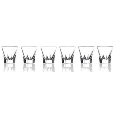 RCR Fusion Crystal Shot Glasses