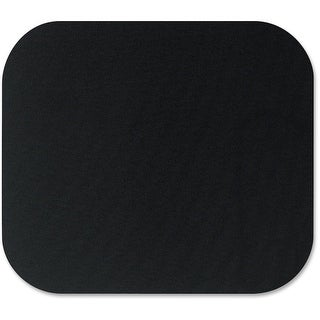 "Fellowes Inc. 58024 Fellowes Mouse Pad - Black - 0.1"" x 9"" x 8"" Dimension - Black - Polyester - Scratch Resistant"