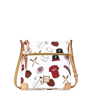 Dooney & Bourke MLB Reds Crossbody (Introduced by Dooney & Bourke at $188 in Jan 2015) - White