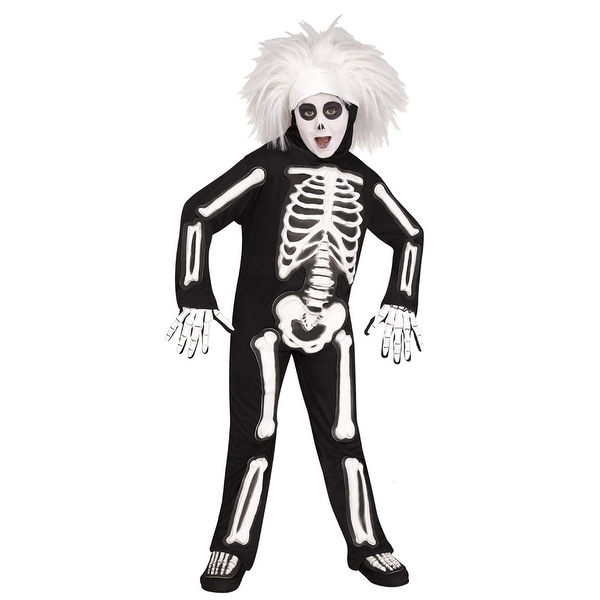 0c39b1a590 Kids SNL Beat Boy Skeleton Halloween Costume