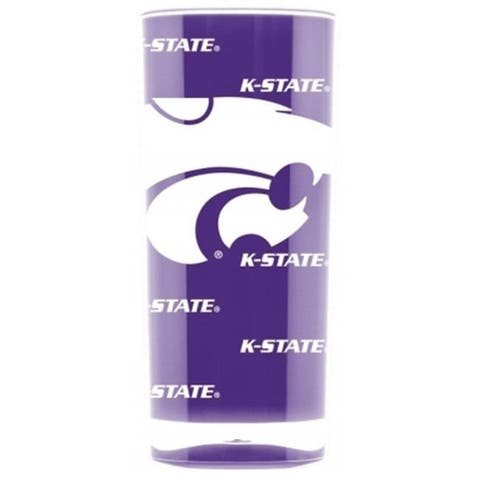 Kansas State Wildcats Tumbler - Square Insulated (16oz)