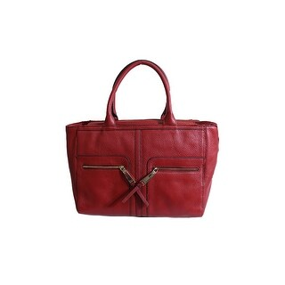 Tommy Hilfiger Red T Group Zip-Top Tote Bag OSFA