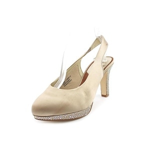 Ros Hommerson Sadie SS Round Toe Canvas Slingback Heel