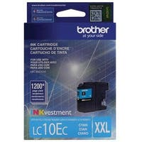 Brother Printer Lc10ec Super High Yield Cyan Ink Cartridge