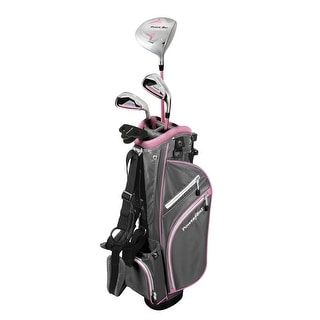 PowerBilt Junior Girls' Ages 5-8 Pink Series Set RH