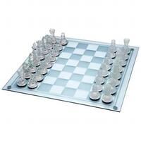 33 pieces Glass Chess Set