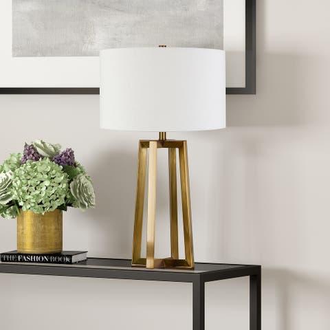 Helena Blackened Bronze Table Lamp