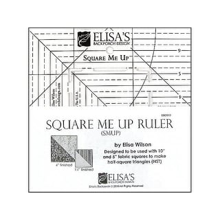 Elisa's Backporch Square Me Up Ruler