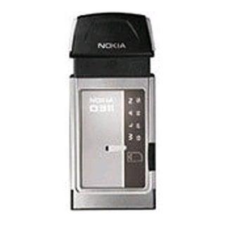 Nokia D311 Wireless GSM/GPRS PC Card Modem - Silver