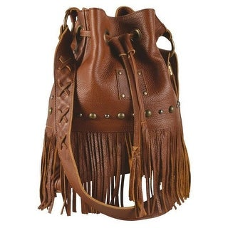 StS Ranchwear Western Handbag Women Leather Free Spirit Brown STS30607 - One size