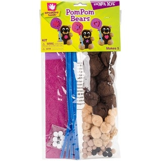 Fuzzy Bear Kit 5/Pkg-