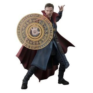 Marvel Doctor Strange S.H.Figuarts Action Figure w/ Burning Flame Set - multi