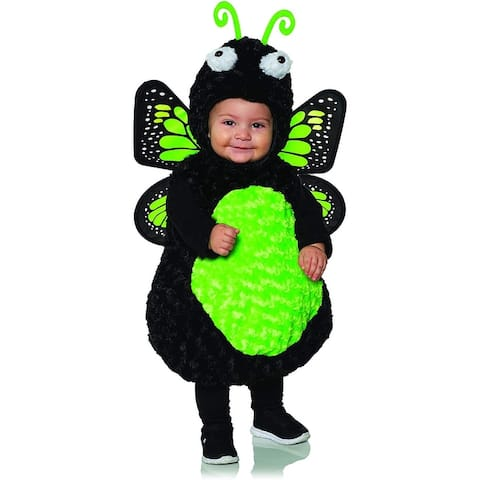 Green Butterfly Belly Babies Toddler Costume
