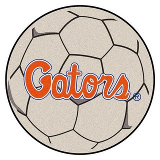 NCAA University Of Florida Gators Soccer Ball Mat Round Area Rug N A