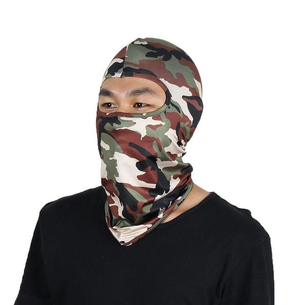 27302ebf6b5 Full Coverage Face Mask Neck Protector Hood Beanie Helmet Balaclava  Camouflage