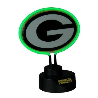 Green Bay Packers Logo Neon Tabletop Statue Accent Lamp