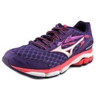 Mizuno Wave Inspire 12 Women 2A Round Toe Synthetic Purple Running Shoe