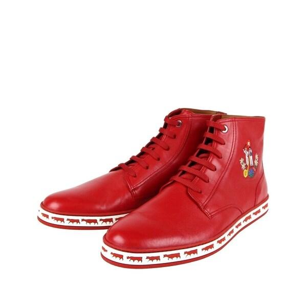 Hi-Top Sneakers Corvette Red 78502