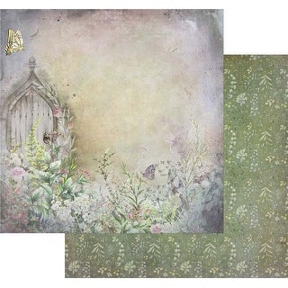 """Tattered Path - Tattered Garden Double-Sided Cardstock 12""""X12"""" (20/Pack)"""