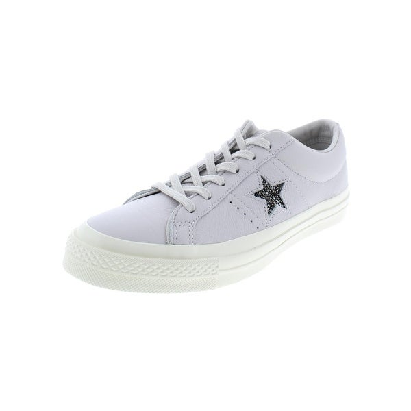 Converse Womens One Star Casual Shoes Leather Metallic - 8 medium (b 047e813de0