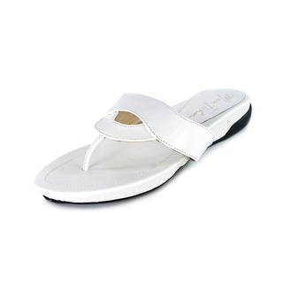 Marc Fisher Anyssa Open Toe Synthetic Slides Sandal
