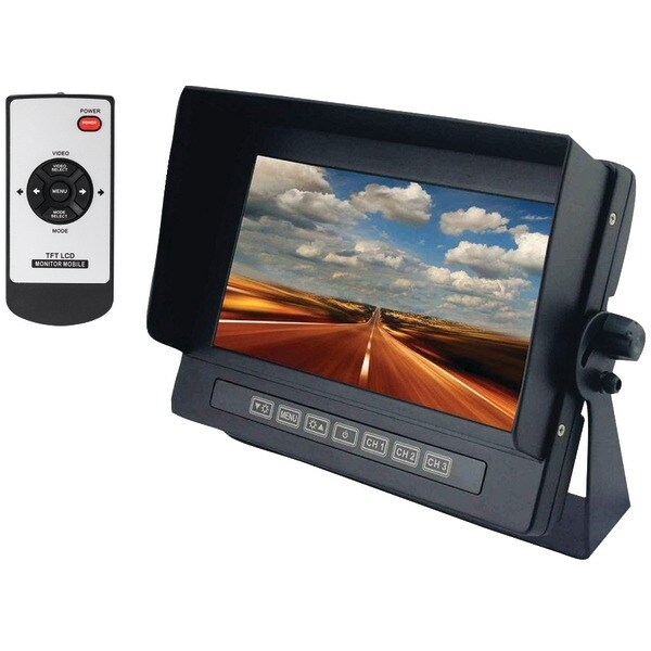 "Crimestopper Sv-8700 7"" Universal Digital Color Lcd Monitor"