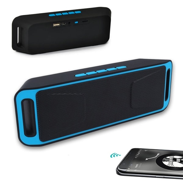 Indigi® Bluetooth Wireless Speaker SUPER BASS Portable For Smartphone / Tablet / Laptop