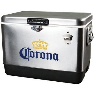 Koolatron CORIC-54 Corona Ice Chest - 54 Quart - Silver